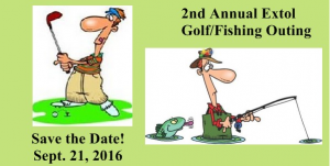 2nd Annual Extol Golf and Fishing Outing Sept 21