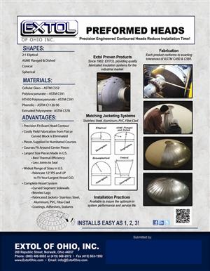 Extol Heads and FibaClad Flyer With Submittal Area