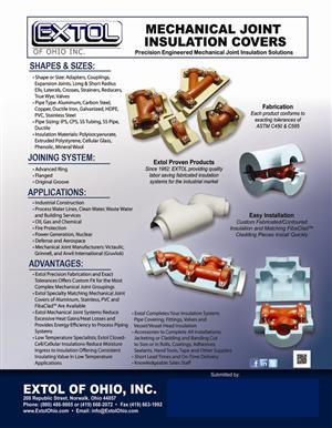 Mechanical Joint System Flyer with Submittal Area